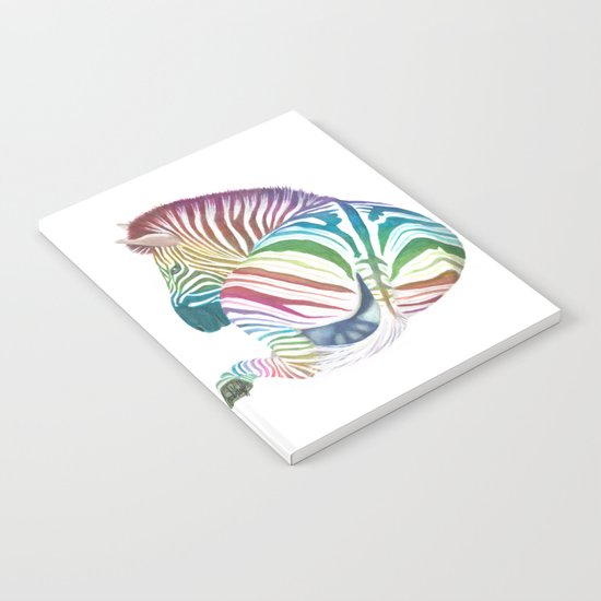 Rainbow Stripes Notebook