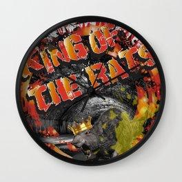 King of the Rats Wall Clock