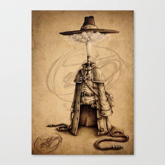 #18 Canvas Print