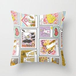 Critter Collective Throw Pillow