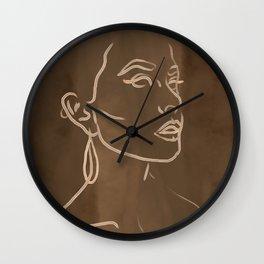 Faces II Wall Clock
