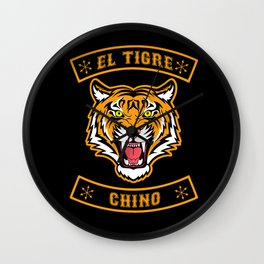 El Tigre Chino community Wall Clock