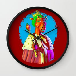 Queen Of What? Wall Clock