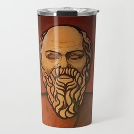 Beardo art Travel Mug