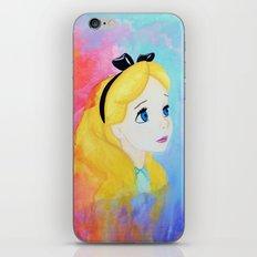 In Wonderland iPhone Skin