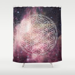 Sacred Geometry Universe 3 Shower Curtain