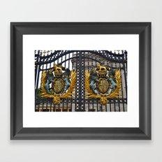 Buckingham Palace. Framed Art Print
