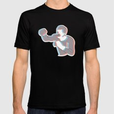 Boxing Ali (coulour) Black 2X-LARGE Mens Fitted Tee