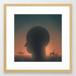 Creation: Day 6 Framed Art Print
