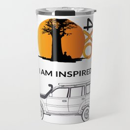 I AM INSPIRED LAND CRUISER 80 Series Travel Mug