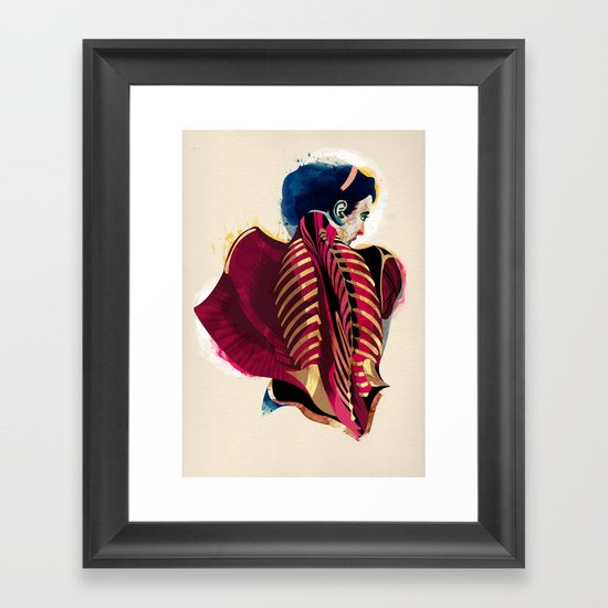 Anatomy 07a Framed Art Print