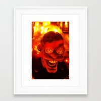 ace Framed Art Prints featuring Ace by Nick Nichols