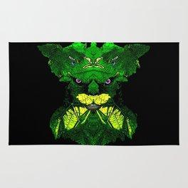 Green Man Rug