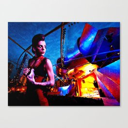 Lion's Den Canvas Print