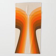 Golden Wing Beach Towel
