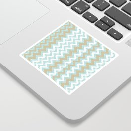 Chevrons and Dots Sticker