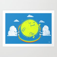Double Dutch Champion Art Print