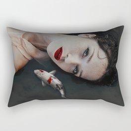 Girlfish Rectangular Pillow