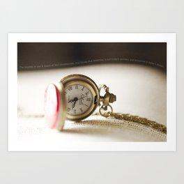 Timeless Pocket Watch Art Print