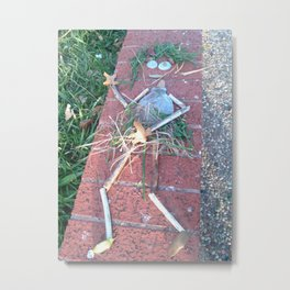 Grass Dancer Metal Print