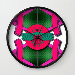 The Scarab Beetle Wall Clock