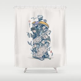 CAN CNTRL Shower Curtain