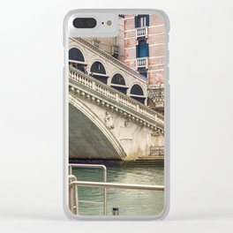 Ponte di Rialto Clear iPhone Case