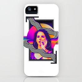 Lana - Pyschedelic iPhone Case
