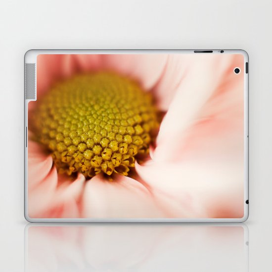 pink daisy Laptop & iPad Skin