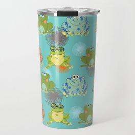 I love frogs Travel Mug
