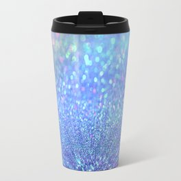 PINK PURPLE GLITTER Travel Mug