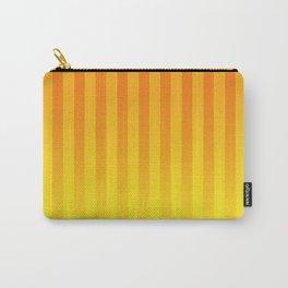 Gradient Stripes Pattern yo Carry-All Pouch