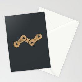 Bicycle chain-zero hero Stationery Cards