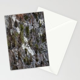 Old tree with character Stationery Cards