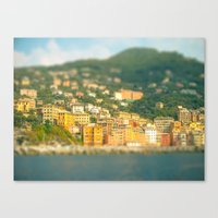 italy Canvas Prints featuring Italy. by Ashley Jensen
