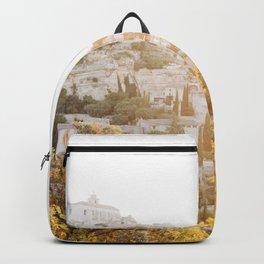 Gordes France Sunrise  Backpack