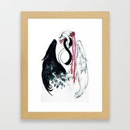 like swansns Framed Art Print