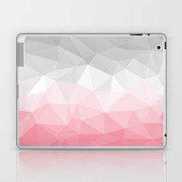 pink and grey polygon 2018 Laptop & iPad Skin