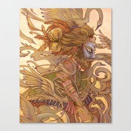 King Songbeard Canvas Print