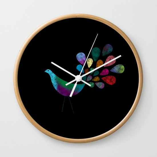 Color 5 Wall Clock