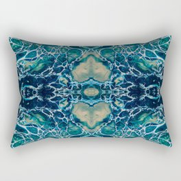 Fragmented 15 Rectangular Pillow