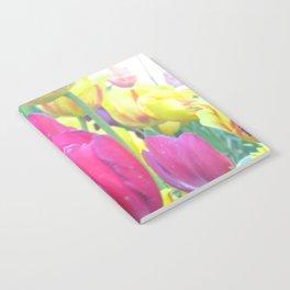 Sweet Spring Tulips Notebook