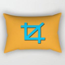 Crop Symbol Rectangular Pillow