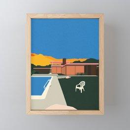 Kaufmann Desert House Poolside Framed Mini Art Print