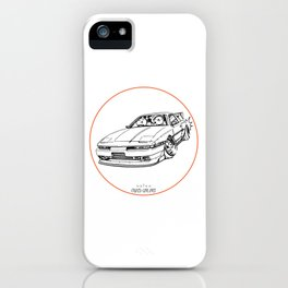 Crazy Car Art 0214 iPhone Case