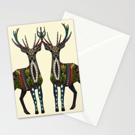 deer vanilla Stationery Cards
