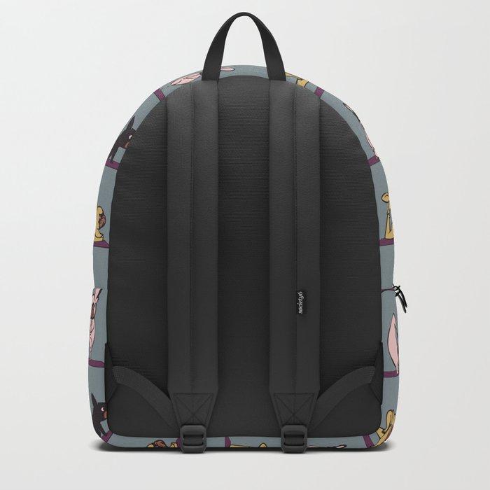 Frenchie Yoga Backpack