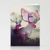 spirit Stationery Cards featuring The spirit VI by Laure.B
