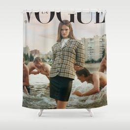 Lulu In Kyiv Shower Curtain