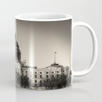 minnesota Mugs featuring Minnesota Capitol Building by Kimberley Britt